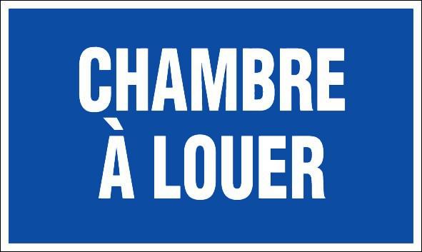 Chambre a louer panneaux de signalisation et signaletique for Chambre a louer