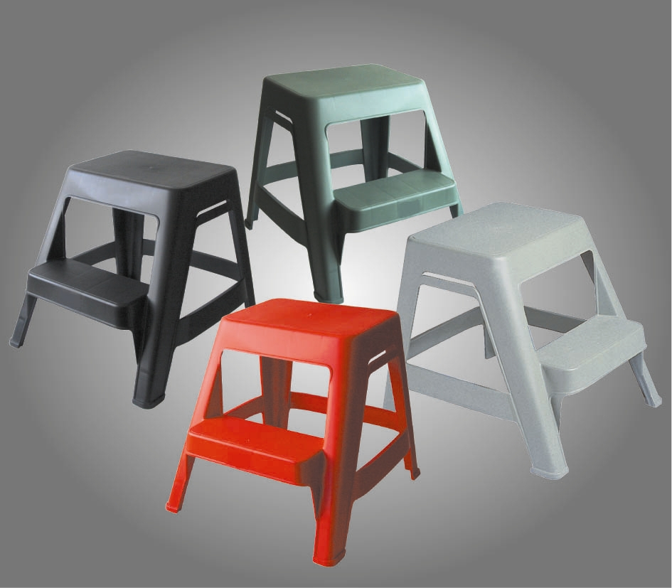 marchepied 2 marches marchepieds. Black Bedroom Furniture Sets. Home Design Ideas
